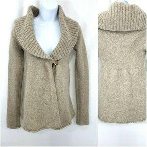 Vince Alpaca Wool Cashmere Tunic Cardigan Sweater